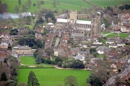 Aerial view of Wells